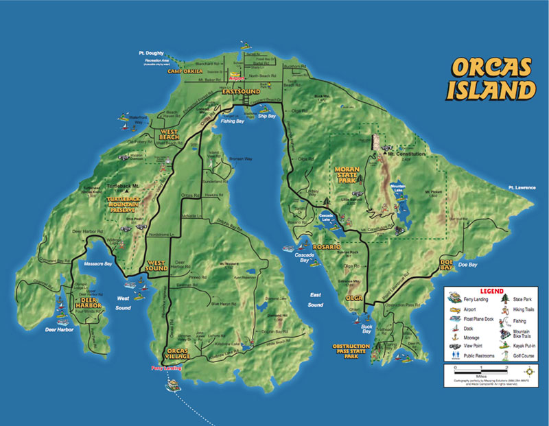 Orcas Island Car Rental