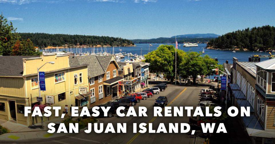 San Juan Island Car Rental